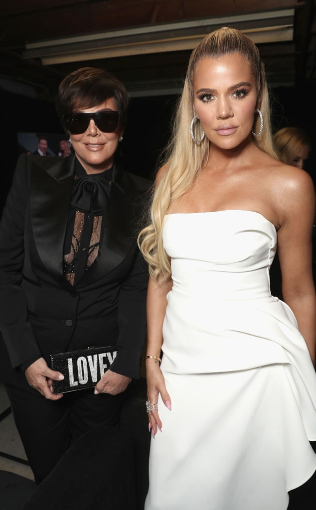 Kris Jenner & Khloe Kardashian -  Look who's here dolls! The  Keeping Up With the Kardashians  stars are dressed to impress while celebrating their Reality Show of 2018 nomination.