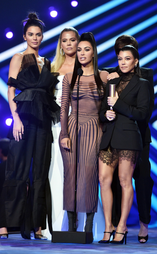 Keeping Up with the Kardashians, 2018 Peoples Choice Awards, Winners