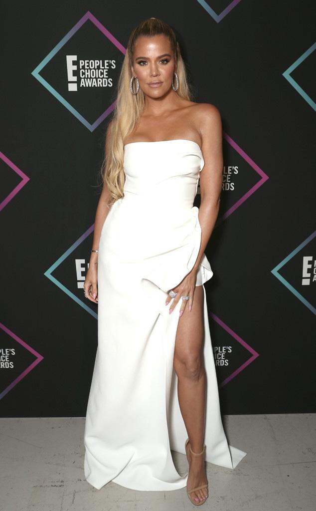Khloe Kardashian, 2018 Peoples Choice Awards, PCAs, Red Carpet Fashions