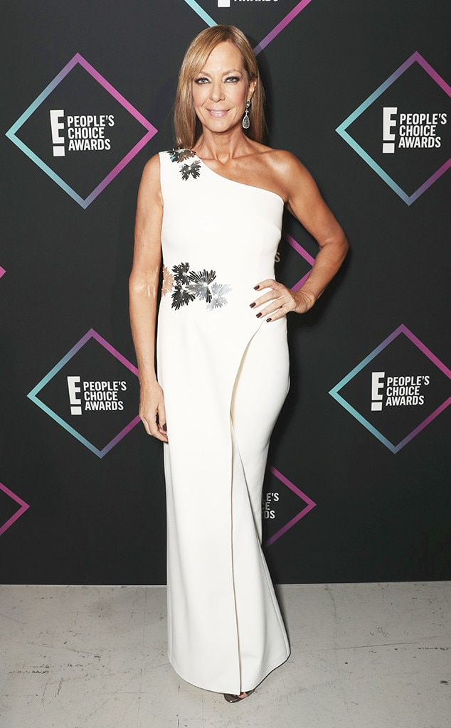 Allison Janney, 2018 Peoples Choice Awards, PCAs, Red Carpet Fashions