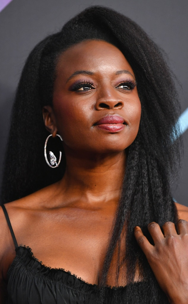 Danai Gurira -  The  Black Panther  star's beautifully kinky hair and radiant skin stunned on the red carpet and stage.
