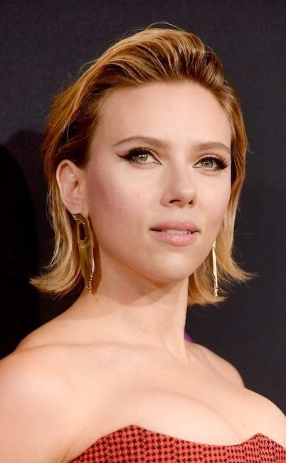 ESC: Scarlett Johansson, 2018 E! People's Choice Awards, Beauty