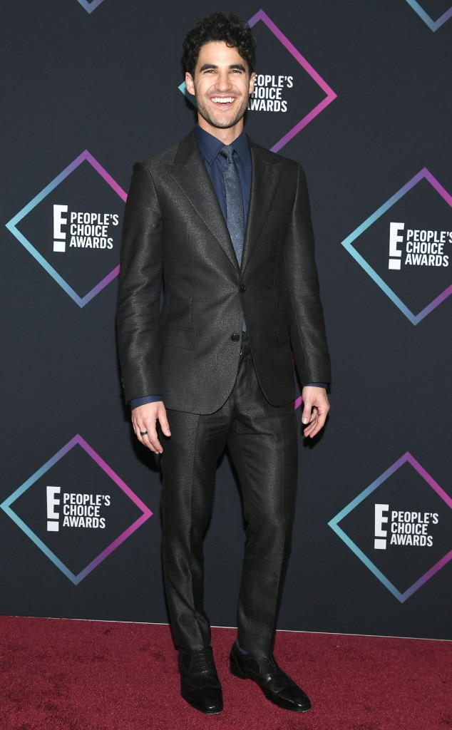 Darren Criss, 2018 Peoples Choice Awards, PCAs, Red Carpet Fashions