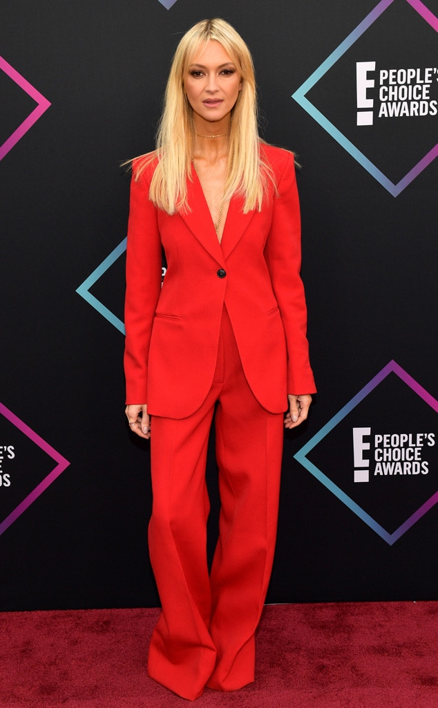 Zanna Roberts Rassi, 2018 Peoples Choice Awards, PCAs, Red Carpet Fashions