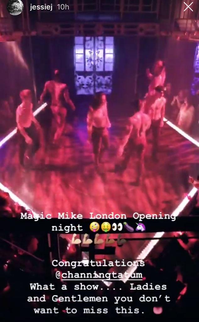 Jessie J, Channing Tatum, Instagram