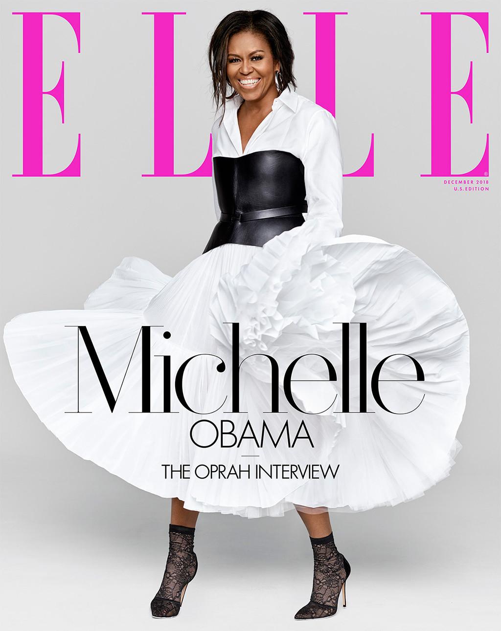 Michelle Obama, ELLE