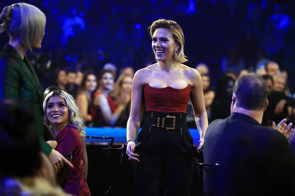 Scarlett Johansson, 2018 E! People's Choice Awards