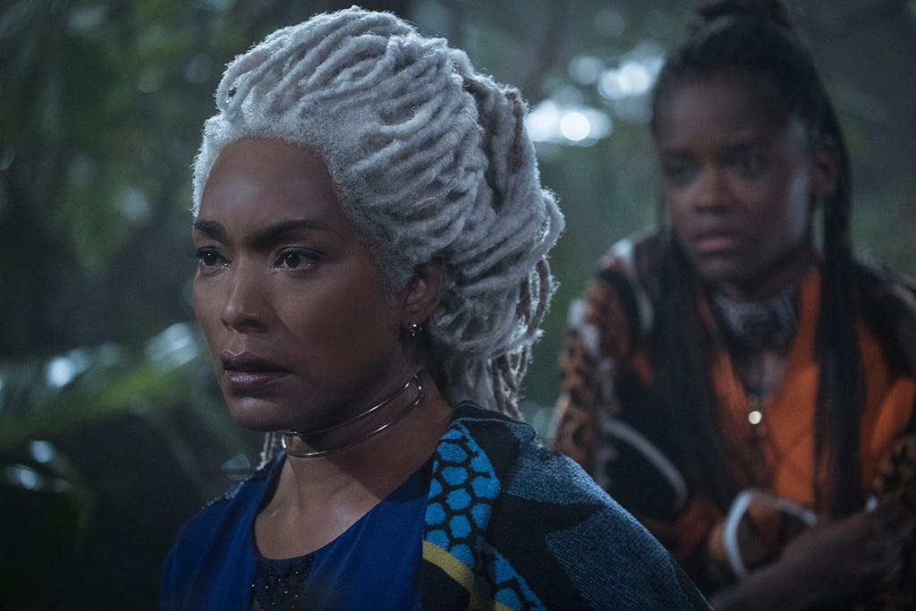 "Angela Bassett -  ""Onward and upward to greater glory!"" tweeted Basset, who played Ramonda, Queen Mother of Wakanda, in  Black Panther . ""Excelsior! Good man, Excelsior!"""