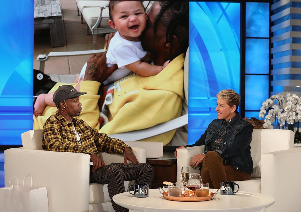 Travis Scott, Ellen DeGeneres
