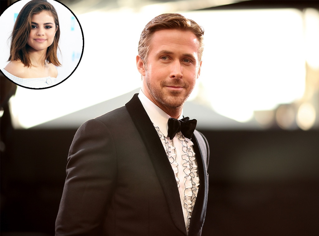 """Selena Gomez -  The """"Back to You"""" singer has expressed her crush on The Notebook star many times over the years, even admitting to People  at InStyle and Warner Bros. ' 2016 Golden Globes after-party she was looking for Gosling at the event."""