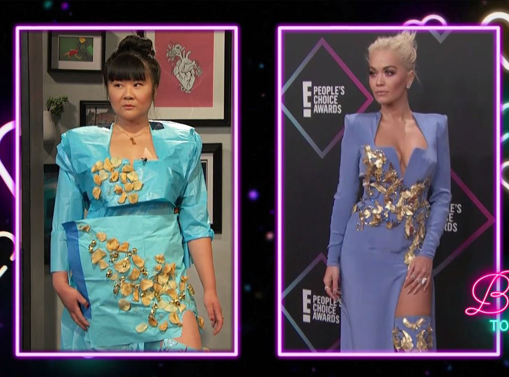 Busy Tonight, Peoples Choice Awards, PCAs, Jenny Yang, Rita Ora