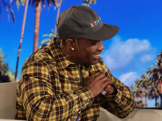 Travis Scott Recalls Kylie Jenner Giving Birth and Holding Stormi for the First Time