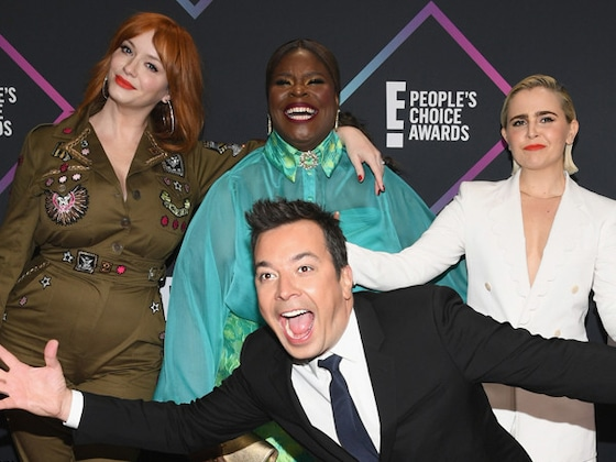 Photobombs, Kisses and a Dog in a Bow Tie: See All the Adorable Candid Moments From the 2018 PCAs