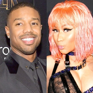 Nicki Minaj, 2018 Peoples Choice Awards, Michael B. Jordan