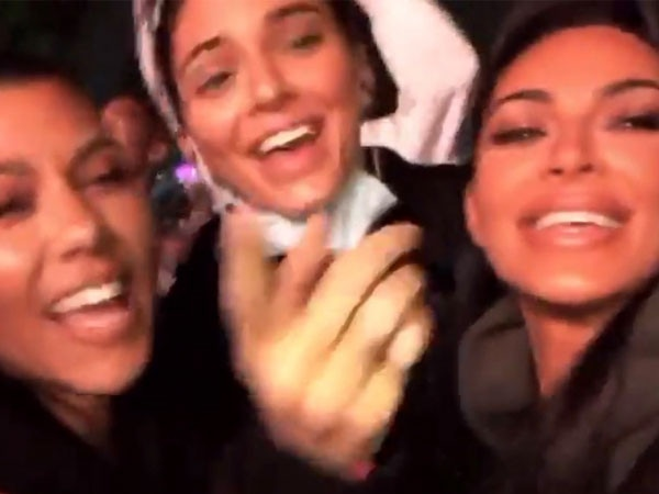 The Kardashians Had the Best Time Ever at Kanye West's First Kids See Ghosts Concert