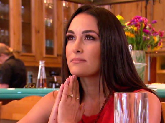 Brie Bella Chokes Up While Discussing the &quot;Mind Game&quot; of Mom Guilt on <i>Total Divas</i>