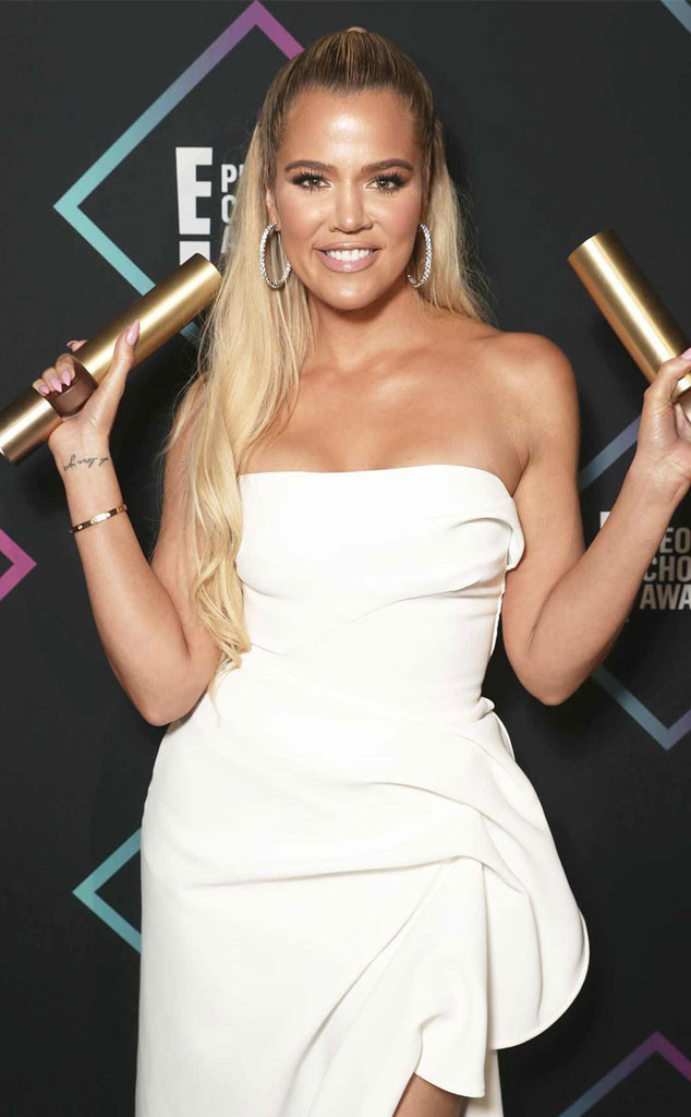 Khloe Kardashian, 2018 People's Choice Awards,