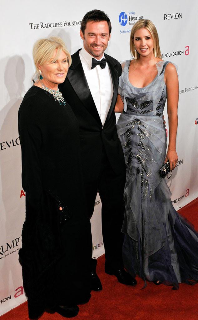 Hugh Jackman, Ivanka Trump, Deborra-Lee Furness