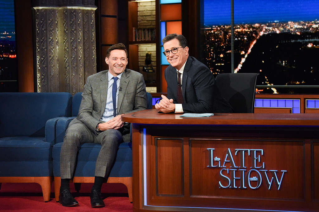 Hugh Jackman, The Late Show With Stephen Colbert