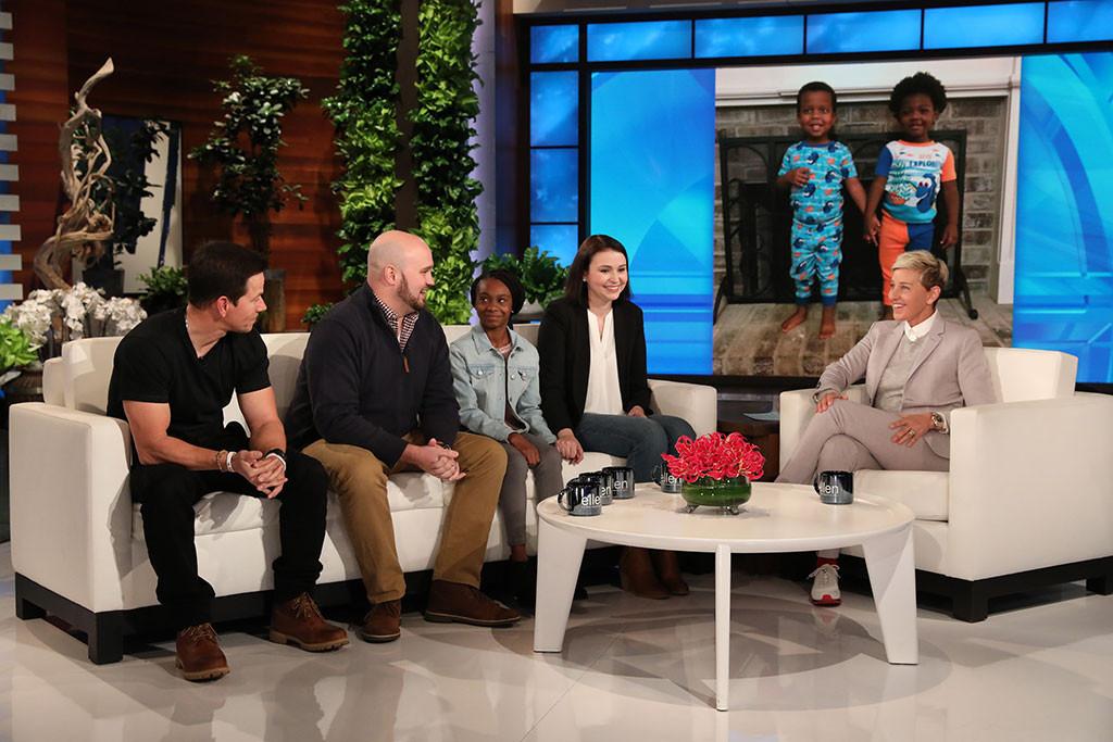 Mark Wahlberg, Ellen DeGeneres