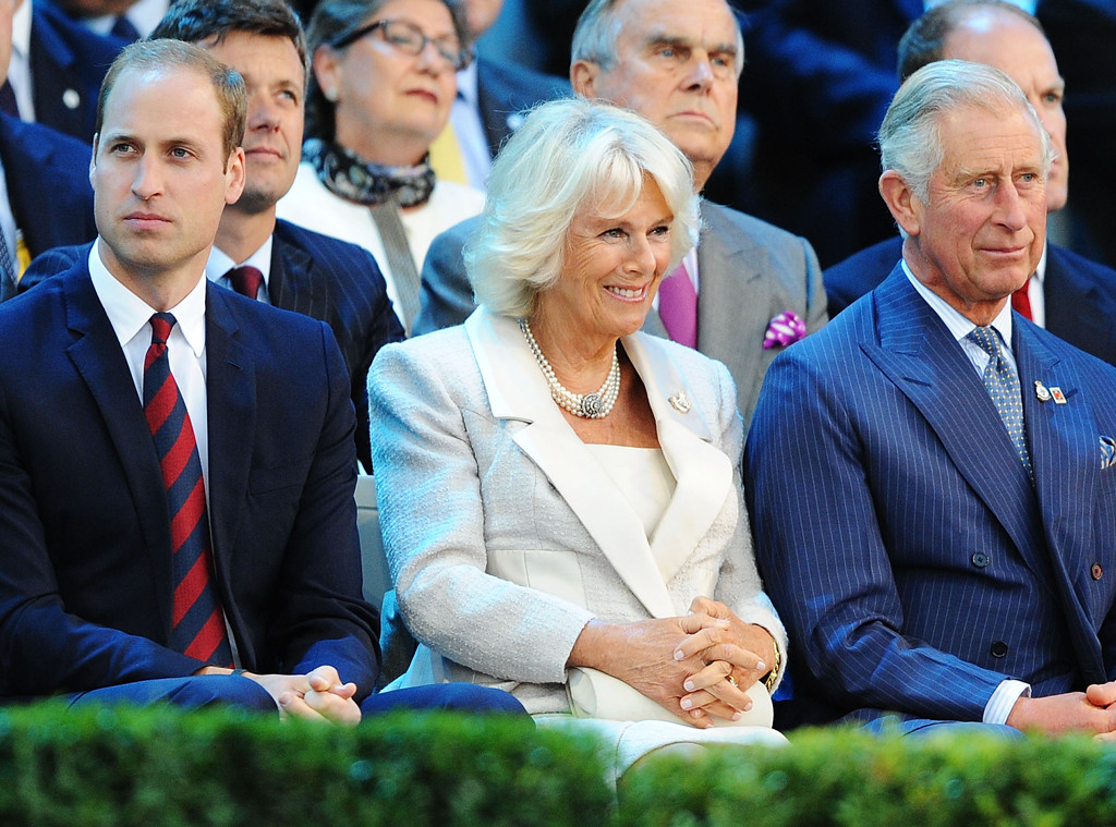 Prince William, Camilla Duchess of Cornwall, Prince Charles