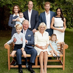 Prince Charles, Camilla, Prince Willliam, Kate Middleton, Prince George, Princess Charlotte, Prince Louis, Prince Harry, Meghan Markle