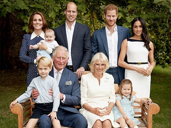 Prince George Has Meghan Markle Laughing in New Royal Family Portrait