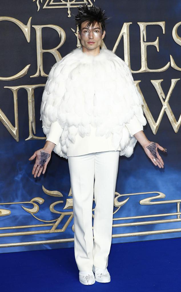 Ezra Miller, Fantastic Beasts: The Crimes Of Grindelwald Premiere