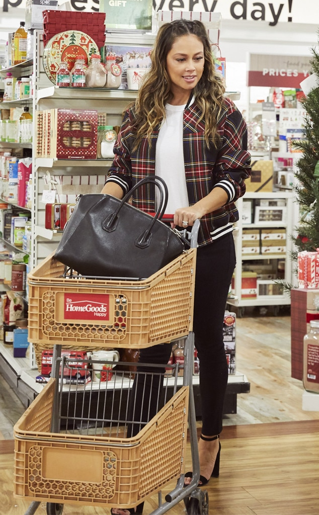 Vanessa Lachey -  The Hollywood actress and busy mom explores the aisles at HomeGoods in Los Angeles for some holiday inspiration.