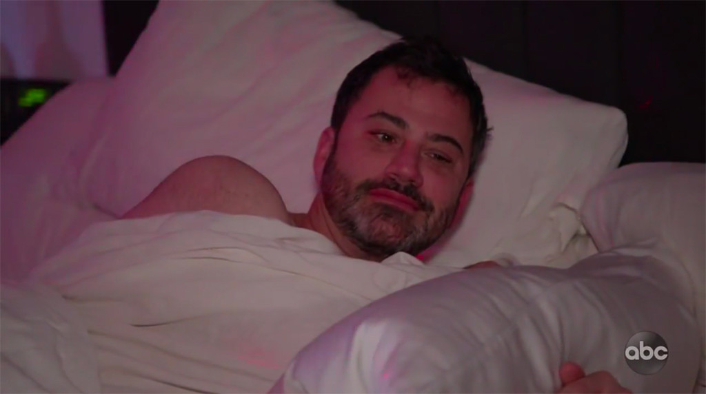 Watch Half-Naked Men Prank Jimmy Kimmel on His Birthday
