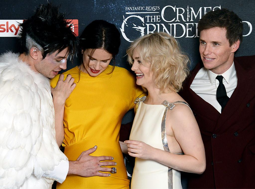 Ezra Miller, Katherine Waterston, Alison Sudol, Eddie Redmayne, Fantastic Beasts: The Crimes Of Grindelwald