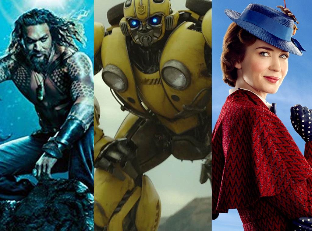Aquaman, Poster, Jason Momoa, Bumblebee, Mary Poppins