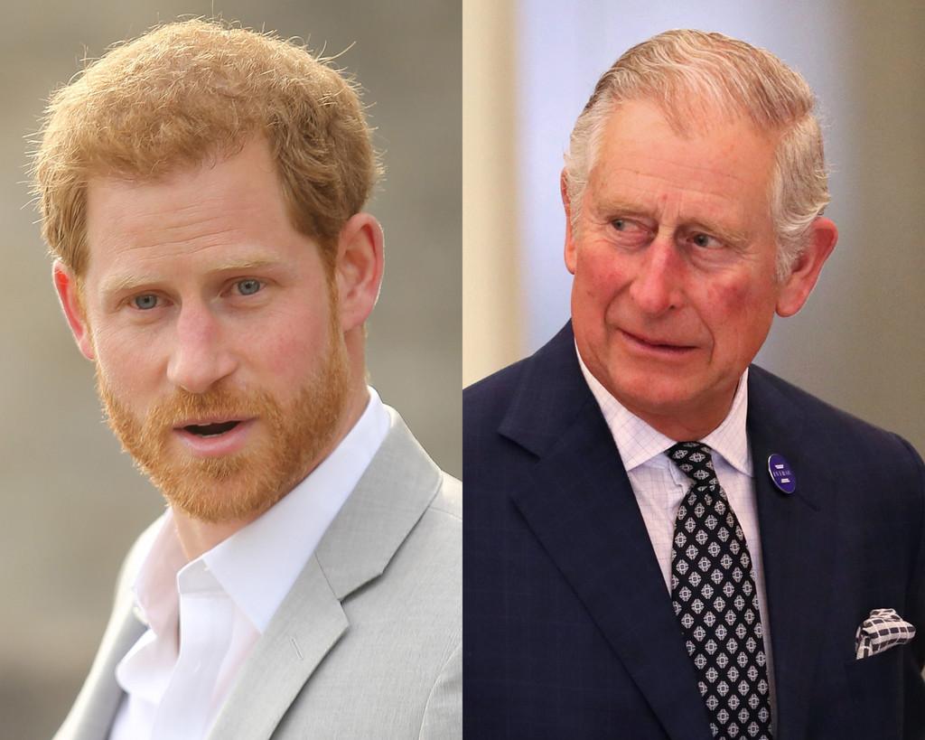 Príncipe Carlos, Príncipe Harry
