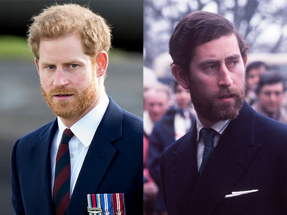 Prince Charles Looks Just Like Prince Harry in Vintage Photos