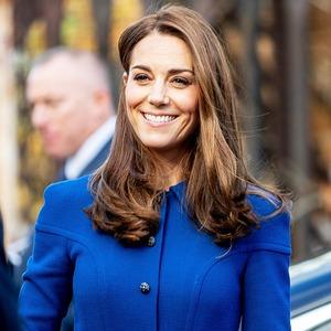 Kate Middleton, Blue Dress