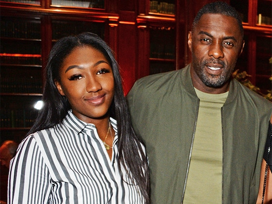 Idris Elba's Daughter Isan Elba Named Golden Globe Ambassador 2019