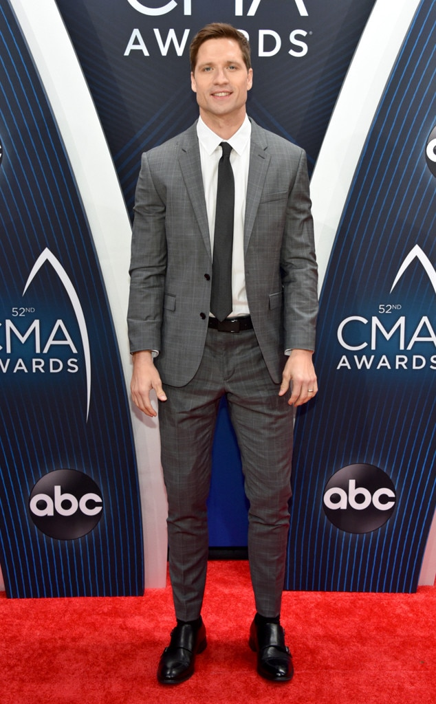 "Walker Hayes -  The ""You Broke Up With Me"" singer is dressed to impress for the star-studded show."