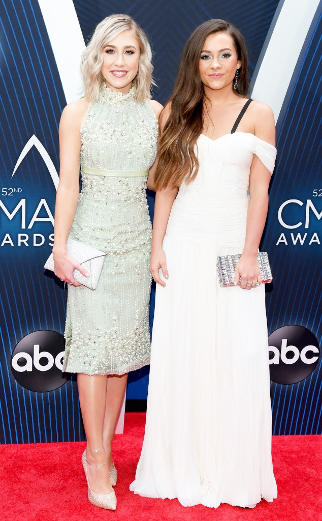 Maddie Marlow & Taylor Dye -  The country music duo better known as Maddie & Tay may just win Vocal Duo of the Year.