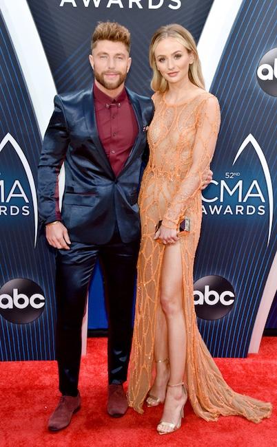 Chris Lane, Lauren Bushnell, 2018 CMA Awards, Couples