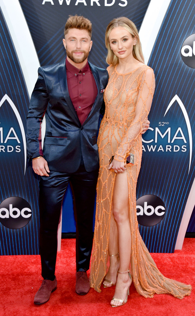 Chris Lane, Lauren Bushnell, 2018 CMA Awards, Couples