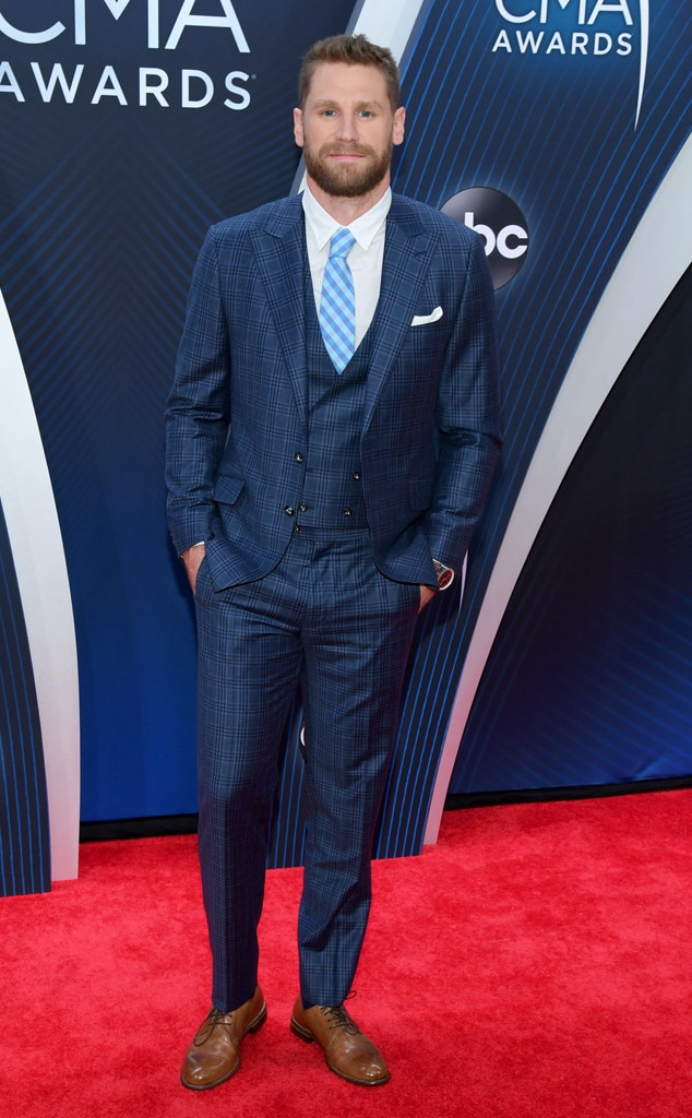 "Chase Rice -  We've got our ""Eyes On You"" Chase with this handsome red carpet look."