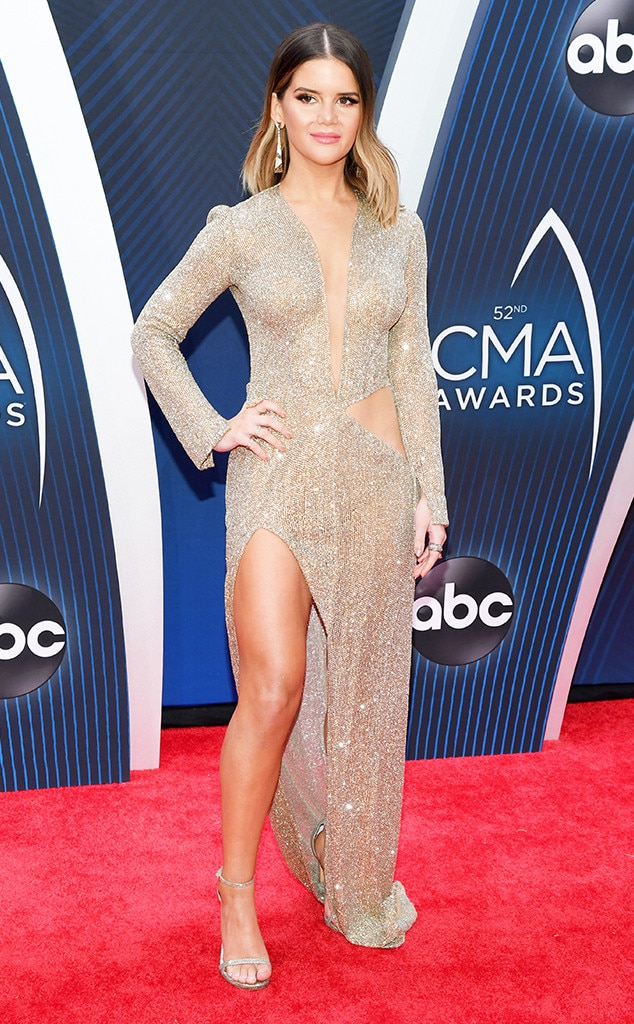 Maren Morris -  Can we get a hallelujah, can we get an Amen for the Female Vocalist of the Year nominee's look?