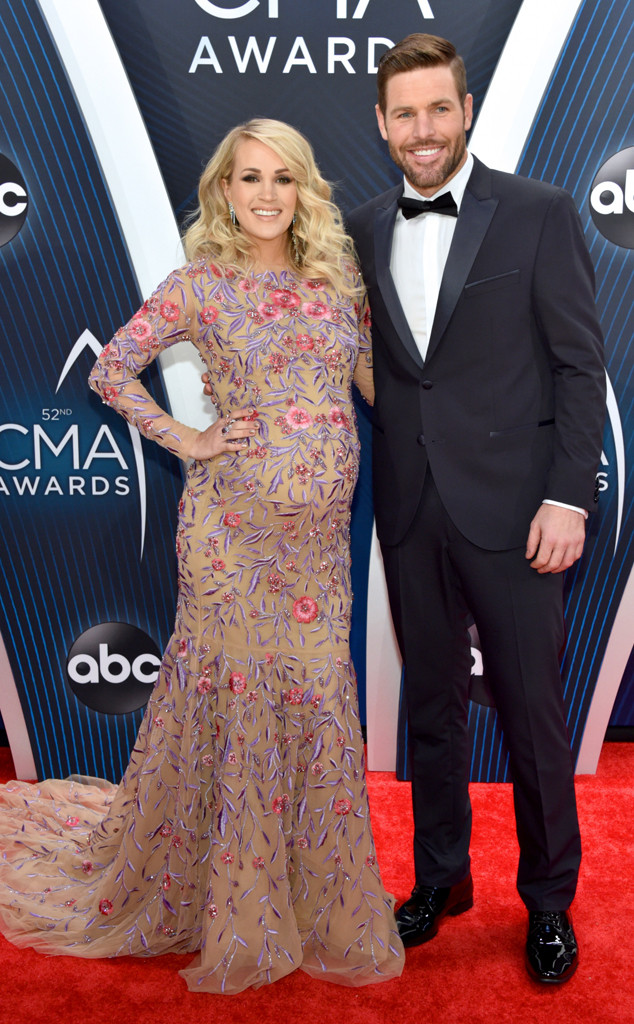Carrie Underwood, Mike Fisher, 2018 CMA Awards