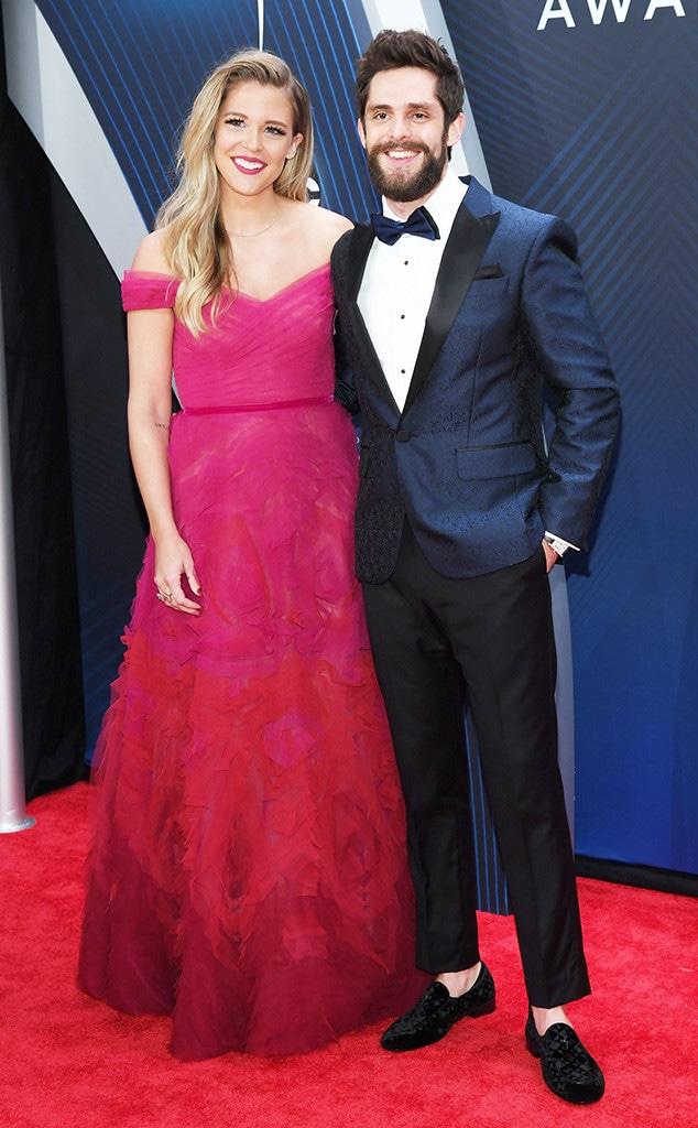 Lauren Akins, Thomas Rhett, 2018 CMA Awards, Couples