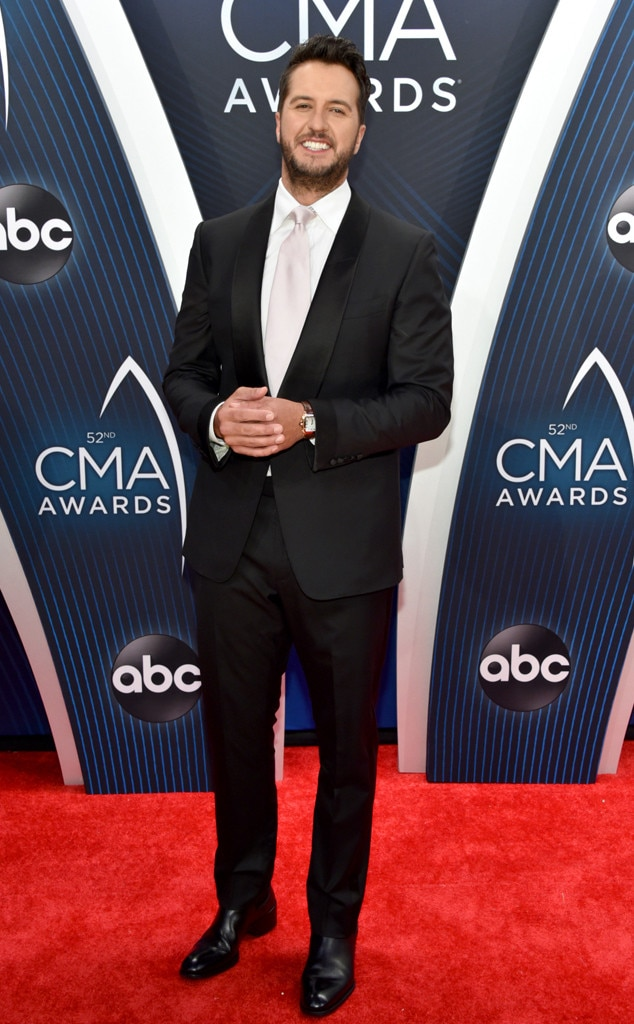 Luke Bryan -  The Entertainer of the Year nominee looks like a million bucks in his Tom Ford tuxedo and Cartier watch.