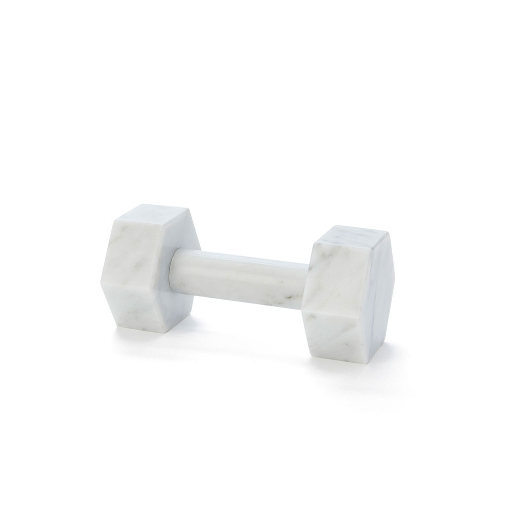Marble Dumbbell, Goop, Holiday Gift Guide