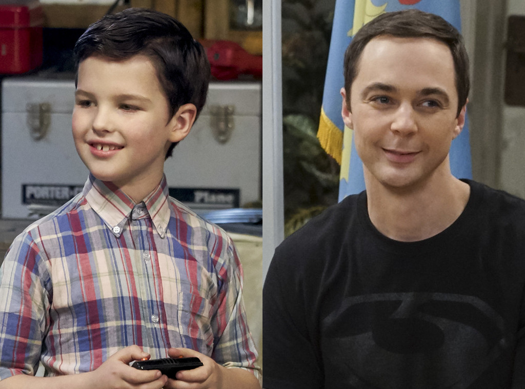Iain Armitage, Jim Parsons, Young Sheldon, The Big Bang Theory