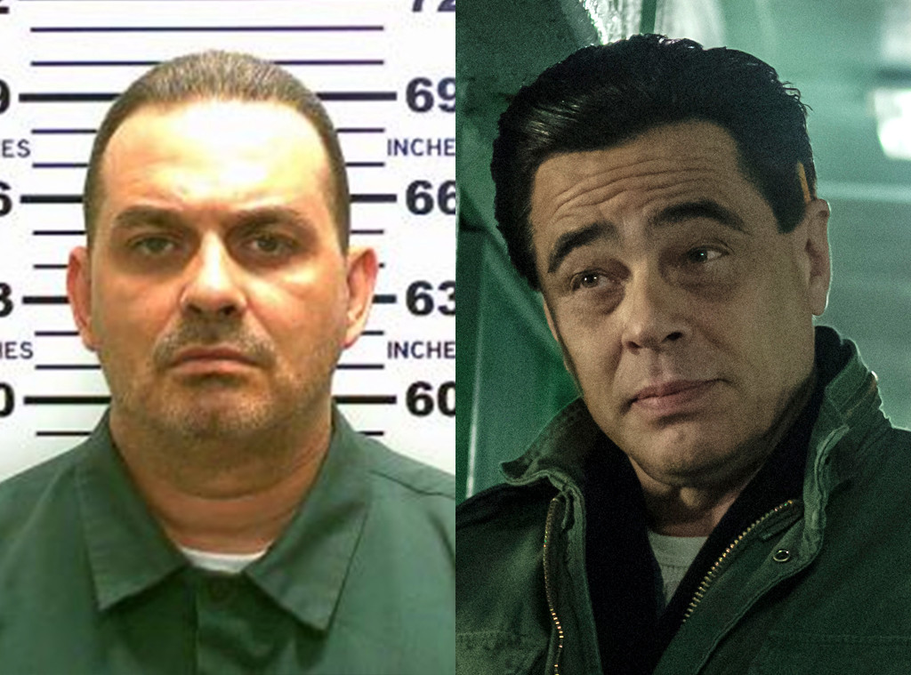 Escape At Dannemora, Benicio Del Toro, Richard Matt