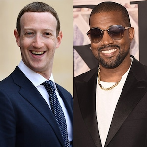 Mark Zuckerberg, Kanye West