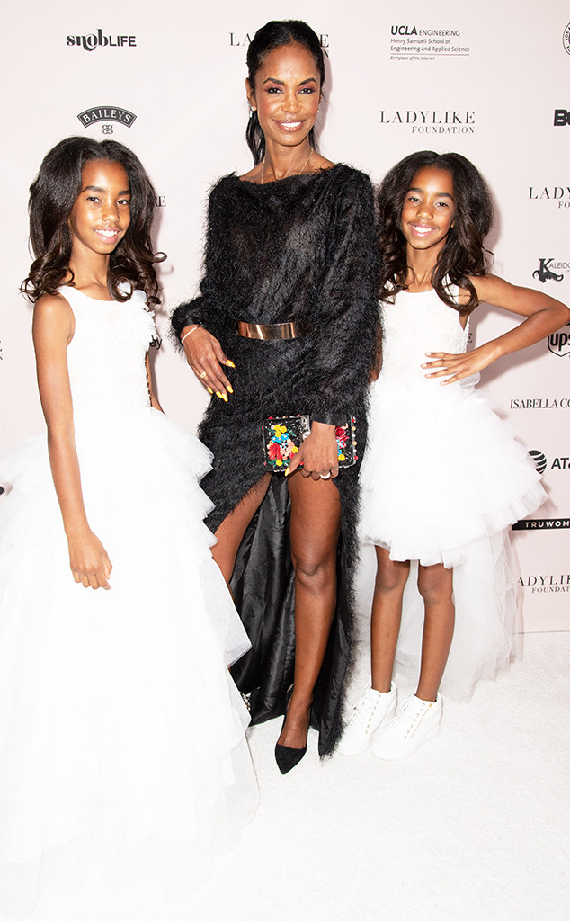 D'Lila Star Combs, Kim Porter, Jessie James Combs